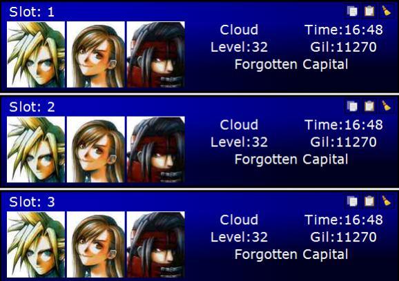 ePSXe v 1 9 25 Final Fantasy VII memory card problem